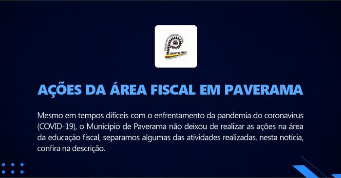 Ações da Área Fiscal em Paverama