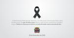 Com profundo pesar, lamentamos o falecimento de Luan da Silva Lopes