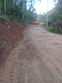 Secretaria de Obras realiza reparos na estrada que liga Paverama á Brochier