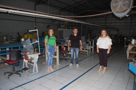 Município concede incentivo e empresa se instala em Paverama