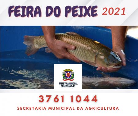 Feira do Peixe: Interessados devem entrar em contato com a Secretaria da Agricultura