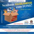 CRAS realiza campanha de arrecadação de alimentos para pessoas necessitadas