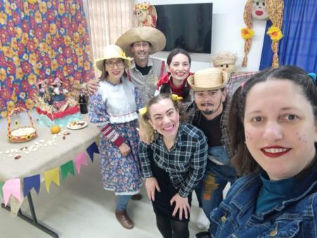 CRAS realiza projeto incentivando famílias a realizarem festa junina em casa