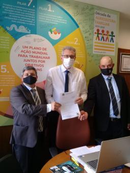 Vice prefeito e vereador Paveramense viajam a Brasília para reforçar pedidos para o ano de 2022