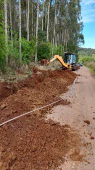 DEMAAP realiza extensão de rede de água no bairro Cidade Baixa